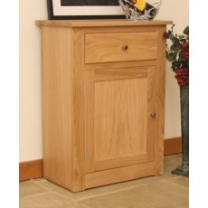 Andrena Elements Small 1 Door Hall Cupboard with Drawer