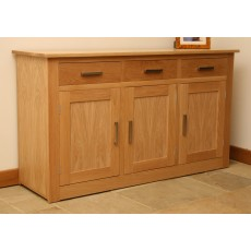 Andrena Elements 5'0' 3 Drawer 3 Door Sideboard