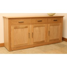 Andrena Elements 6'0' 3 Drawer 3 Door Sideboard