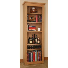 Andrena Elements Medium Open Bookcase