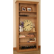 Andrena Elements Wide Open Bookcase