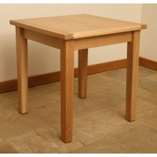 Andrena Elements Small Square Fixed Top Table