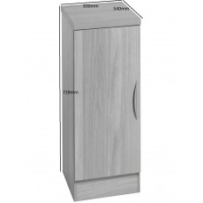 Desk Height Cupboard 300mm Wide