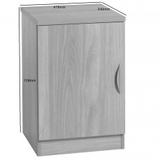 Desk Height Cupboard 480mm Wide