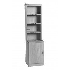 Desk Height Cupboard 480mm Wide with OSC Hutch