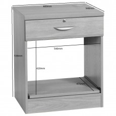Printer/Scanner Desk Drawer Unit