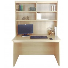 Home Office Desk with OSI Hutch
