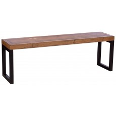 Baker Nickel 140cm Bench