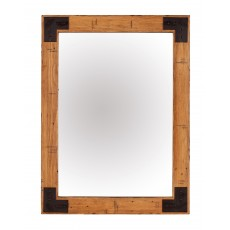 Baker Nickel Wall Mirror