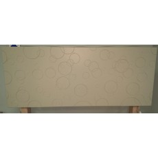 Clearance - Stuart Jones Bubbles 4'6' (135cm) Double Headboard (Green)