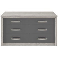 Kingstown Cosmos 6 Drawer Chest