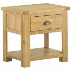 Portbury Lamp Table with Drawer