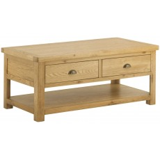 Portbury Coffee Table with Drawers