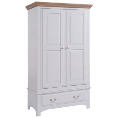 Wickford 2 Door 1 Drawer Wardrobe