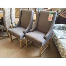 Clearance - Wood Bros Old Charm 3063 Wingback Chair (Pair)
