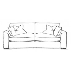 Living Homes Beach House Extra Large Sofa