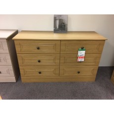 Clearance - Kingstown Toledo 6 Drawer Chest