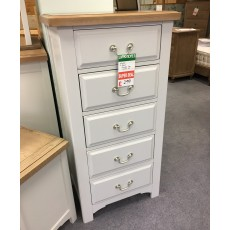 Clearance - Wickford 5 Drawer Wellington Chest