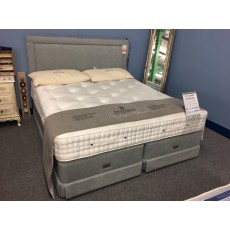Clearance - Hypnos 5'0' (180cm) Superking St James Supreme Divan Set PLUS Isobella H/board