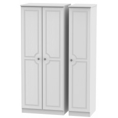 Welcome Bude Triple Plain Wardrobe