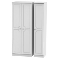 Welcome Bude Tall Triple Plain Wardrobe