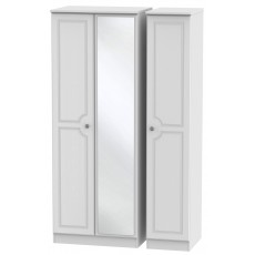 Welcome Bude Tall Triple Mirror Wardrobe