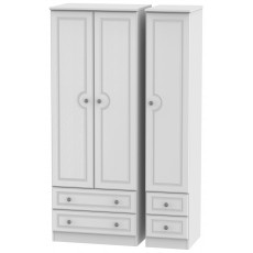 Welcome Bude Tall Triple 2 Drawer + Drawer Wardrobe
