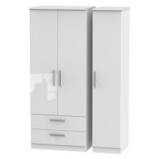 Welcome Infinity Triple 2 Drawer Robe