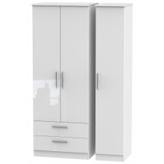 Welcome Infinity Tall Triple 2 Drawer Robe