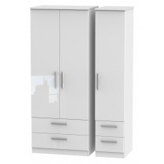 Welcome Infinity Triple 2 Drawer + Drawer Robe