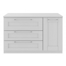 Kingstown Alpha Dining 3 Drawer 1 Door Sideboard