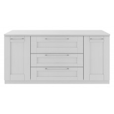 Kingstown Alpha Dining 3 Drawer 2 Door Sideboard