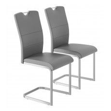Kingstown Alpha Cantilever Chairs (Pair)