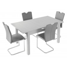 Kingstown Alpha Extending Table & 4 Chairs