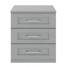 Kingstown Alpha 3 Drawer Wide Chest