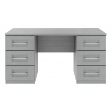 Kingstown Alpha Double Pedestal Dressing Table