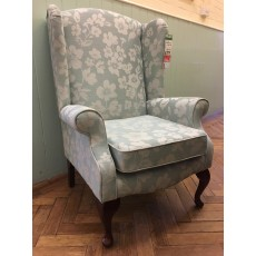 Living Homes Kensington Chair - Jacquard Teal