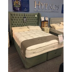 "Clearance - Hypnos 5'0"" (150cm) Kingsize Sovereign Divan Set PLUS Elizabeth Headboard"