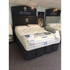 "Clearance - Hypnos Alto 5'0"" (150cm) Kingsize Mattress with Ottoman Base PLUS Isobella Headboard"