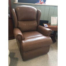 Clearance - Sherborne Malvern Manual Recliner in Colorado Leather