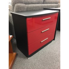 Clearance - Welcome Infinity 3 Drawer Wide Chest
