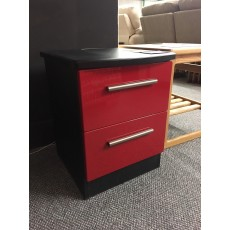 Clearance - Welcome Infinity 2 Drawer Bedside Chest