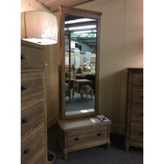 Clearance - Willis Gambier Elle Cheval Mirror