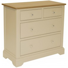 Hampton 2 Over 2 Drawer Chest