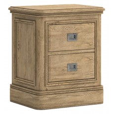 Verona 2 Drawer Bedside