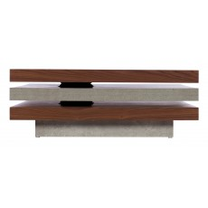 Baker Porto Revolving Slab Coffee Table