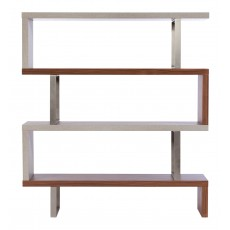 Baker Porto Walnut & Concrete Bookcase