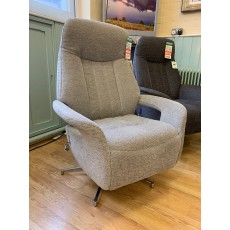 Clearance - Sitbest Esprit Small Manual Recliner Swivel Chair