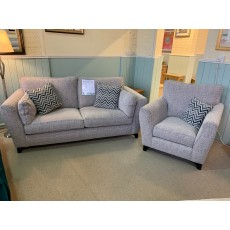Clearance - Alstons Sullivan 3 Seater Sofa & Chair