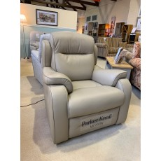 Clearance - Parker Knoll Boston Manual Recliner in Leather